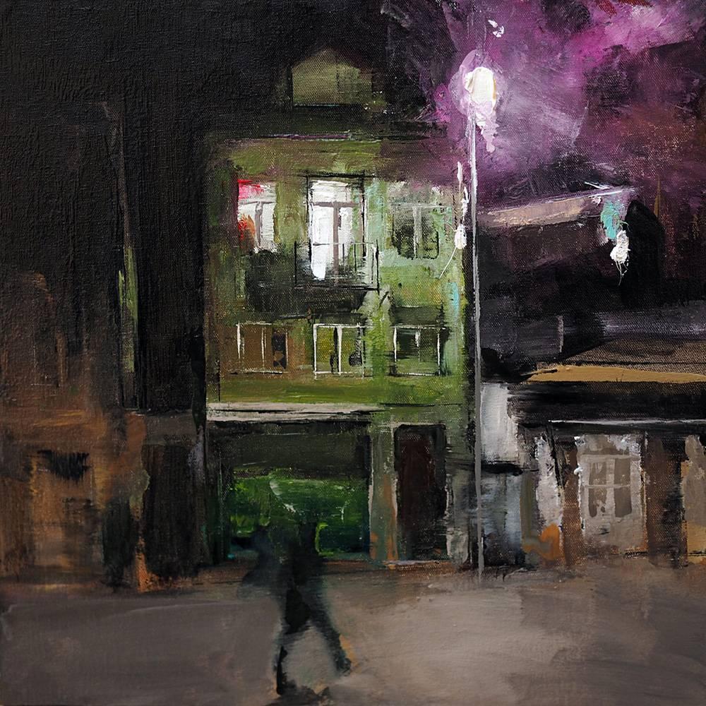 Abbildung Heiko Mattausch Porto a noite IV 2017