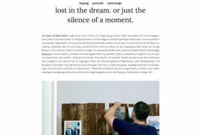 Lost In The Dream – Artikel von Annabelle sagt