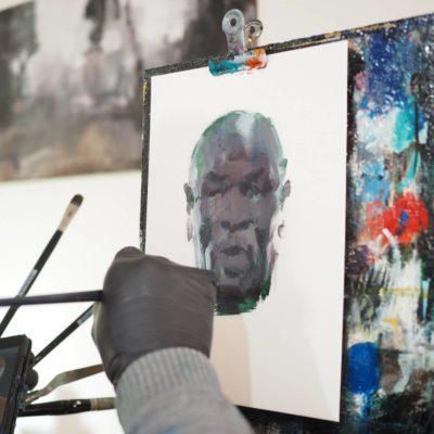 Time Lapse Portrait Mike Tyson