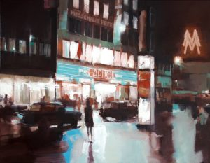 Abbildung Capitol Kino Leipzig 1966 nach Foto von Friedrich