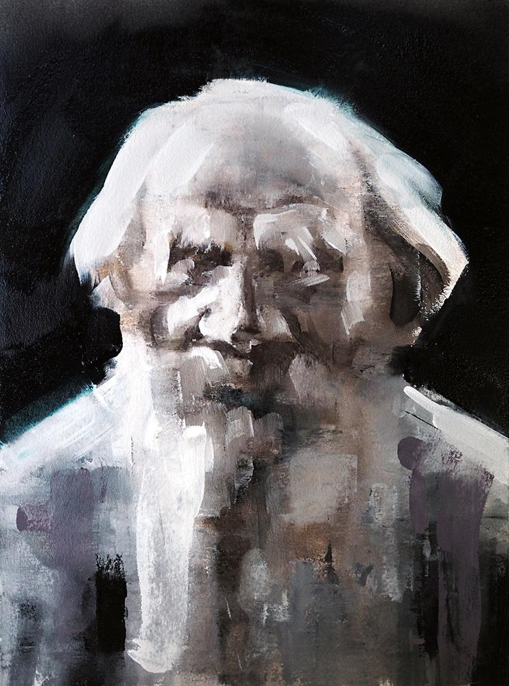 Abbildung Portrait Lew Tolstoi 2017